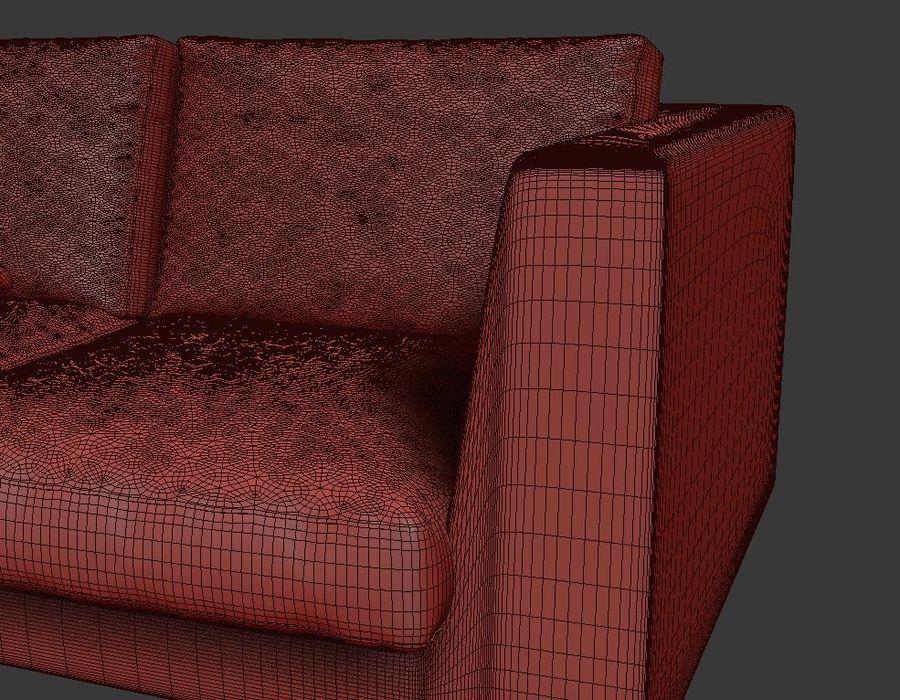 Sofá mínimo moderno de alta qualidade royalty-free 3d model - Preview no. 5