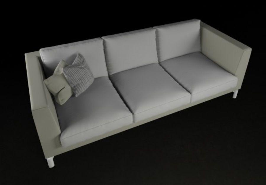 Sofá mínimo moderno de alta qualidade royalty-free 3d model - Preview no. 3