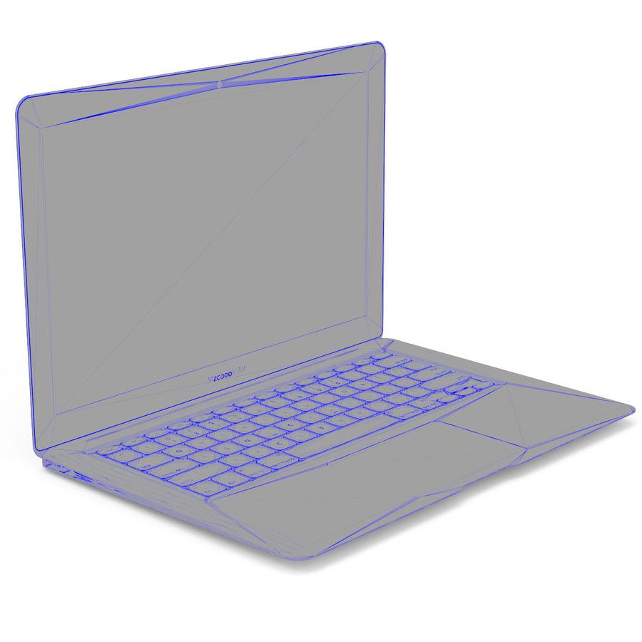 Macbook Air 13英寸 royalty-free 3d model - Preview no. 7