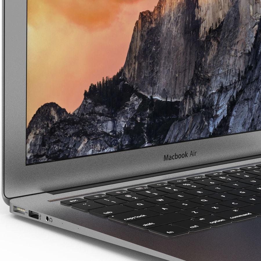 Macbook Air 13英寸 royalty-free 3d model - Preview no. 3