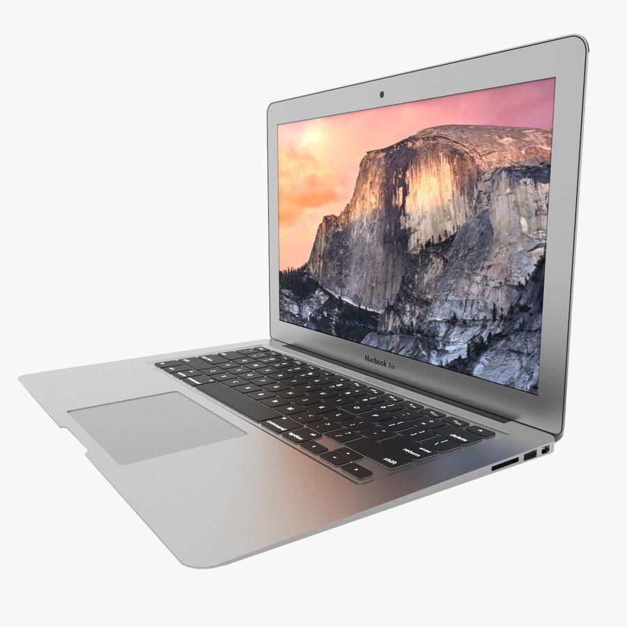 Macbook Air 13英寸 royalty-free 3d model - Preview no. 1