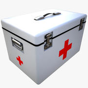 pudełko medyczne 3d model