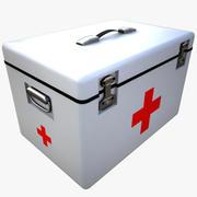 医疗盒 3d model