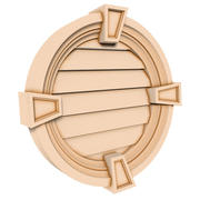 Round Louver 2 - 30 inch 3d model
