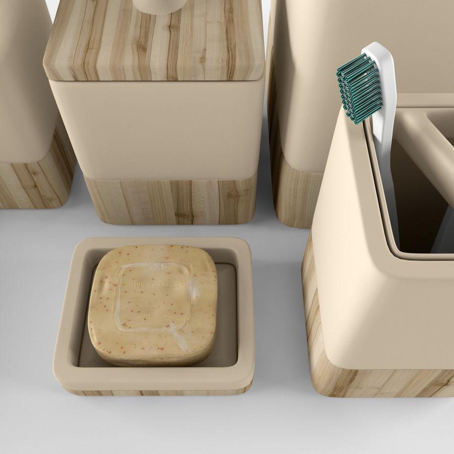 Set da bagno royalty-free 3d model - Preview no. 3