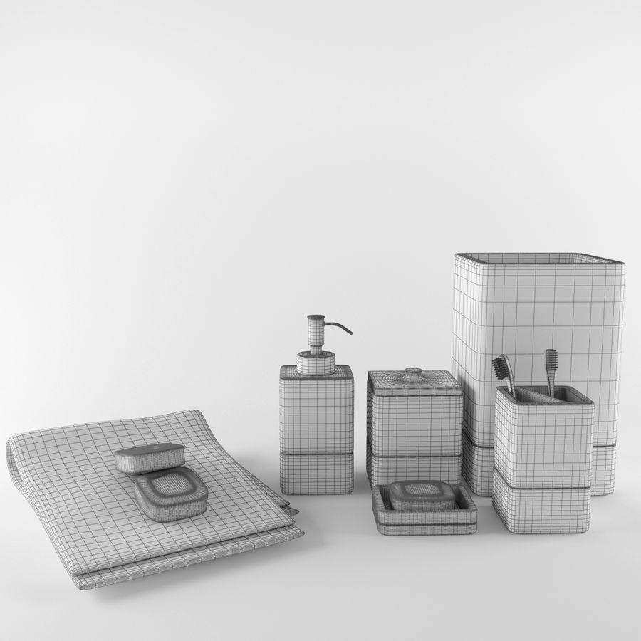 Set da bagno royalty-free 3d model - Preview no. 8