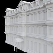Zabytkowy budynek 3d model