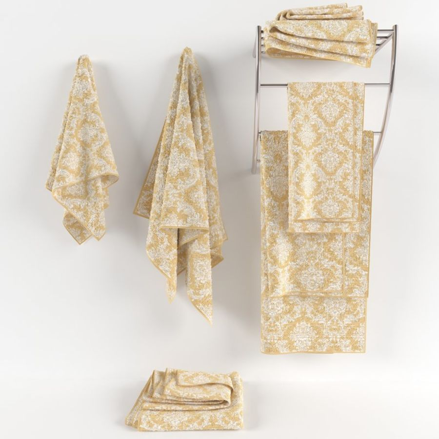 Towels royalty-free 3d model - Preview no. 1