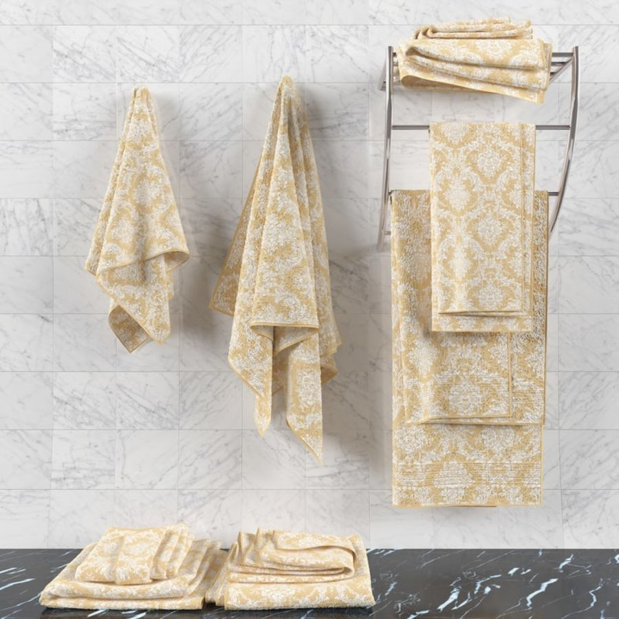 Towels royalty-free 3d model - Preview no. 2