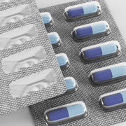 Таблетки волдыря 3d model