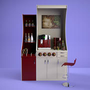Mini kawiarnia 3d model