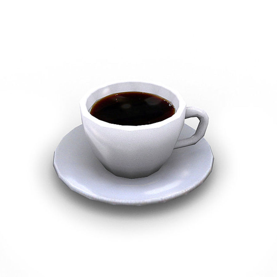 Coffee Bundle 1 royalty-free 3d model - Preview no. 2