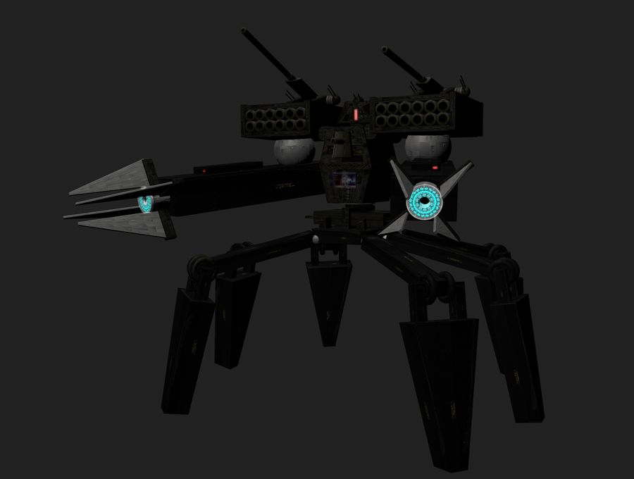 Prototype O1 royalty-free 3d model - Preview no. 2