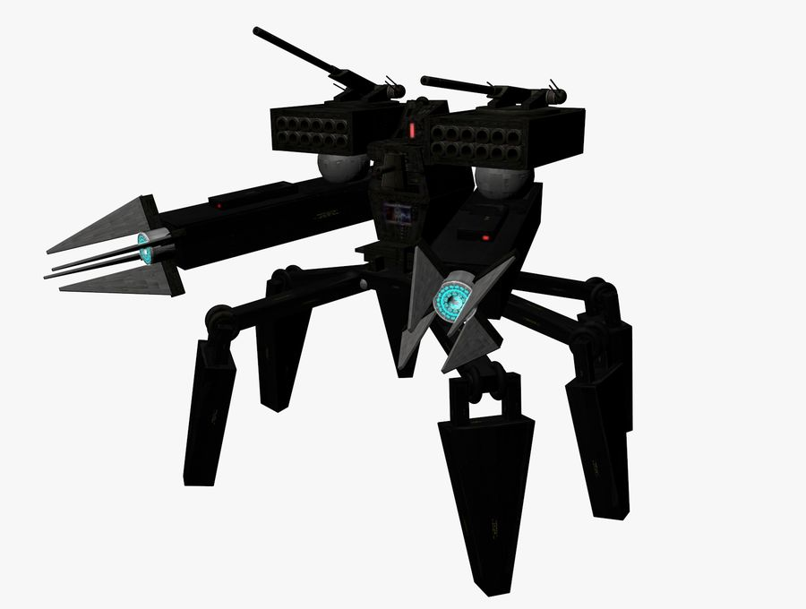Prototype O1 royalty-free 3d model - Preview no. 3