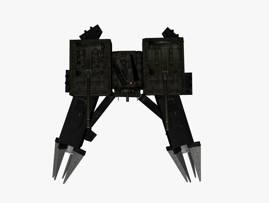 Prototype O1 royalty-free 3d model - Preview no. 7