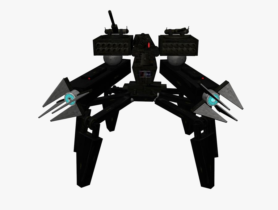 Prototype O1 royalty-free 3d model - Preview no. 9