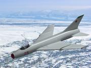 Su-7. 3d model