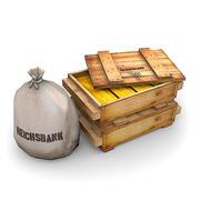 WW2 Reichsbank Gold 1 modelo 3d