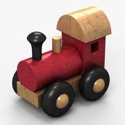 Tren Oyuncak 3d model