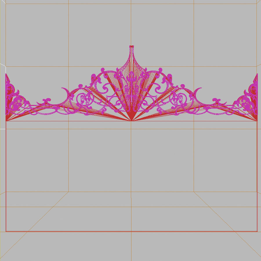 머리맡 1 royalty-free 3d model - Preview no. 9