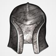 Old helmet (UV mapped) 3d model