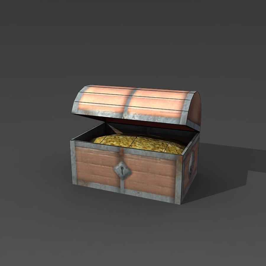 Низкополигональные вещи royalty-free 3d model - Preview no. 14