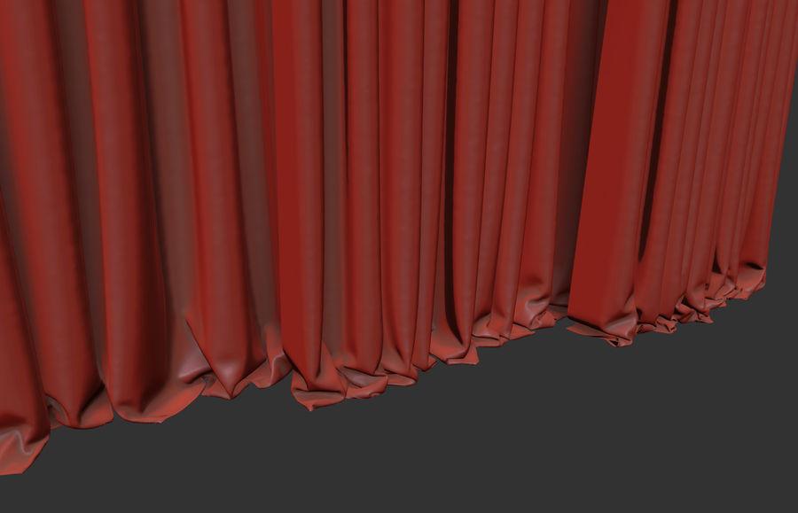 ブラインド4ポジション royalty-free 3d model - Preview no. 5