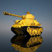 タンク 3d model