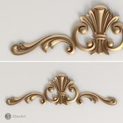 Ornamentale intagliato | Ng_011 3d model