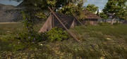 Medieval Huts and Tents 3d model
