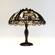 Lamp Art Nouveau 3d model