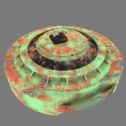 Anti Tank Madeni 3d model