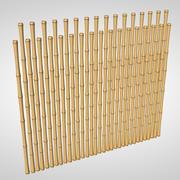 Cerca de bambu 3d model