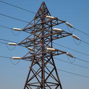 Башня передачи энергии 3d model