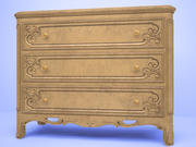 antique commode 3d model