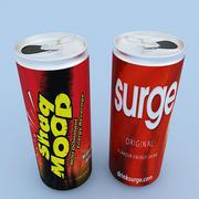 Энергетические напитки 3d model