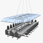 Cena in cielo 3d model