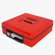 Cash Box Close 01 3d model