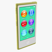 Apple iPod Nano Желтый 3D Модель 3d model