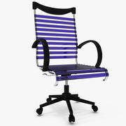 现代椅子02 3d model