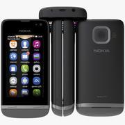 Nokia Asha 311 3D Model 3d model