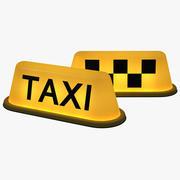 Taxi Light 3d model