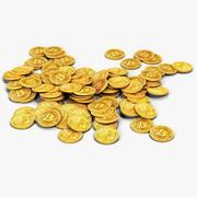 Bitcoins 3d model