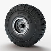 Wheel Arctic Tires 3d model