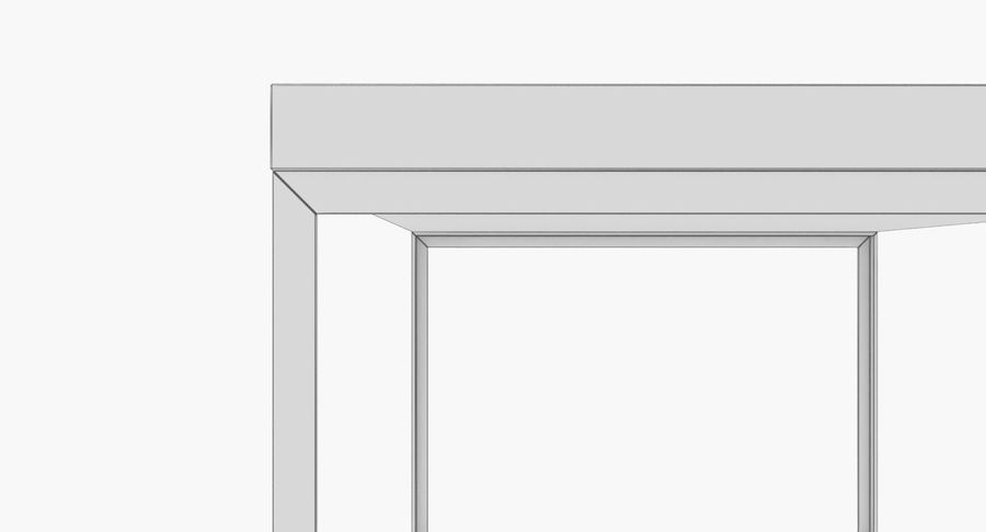 现代咖啡桌 royalty-free 3d model - Preview no. 11