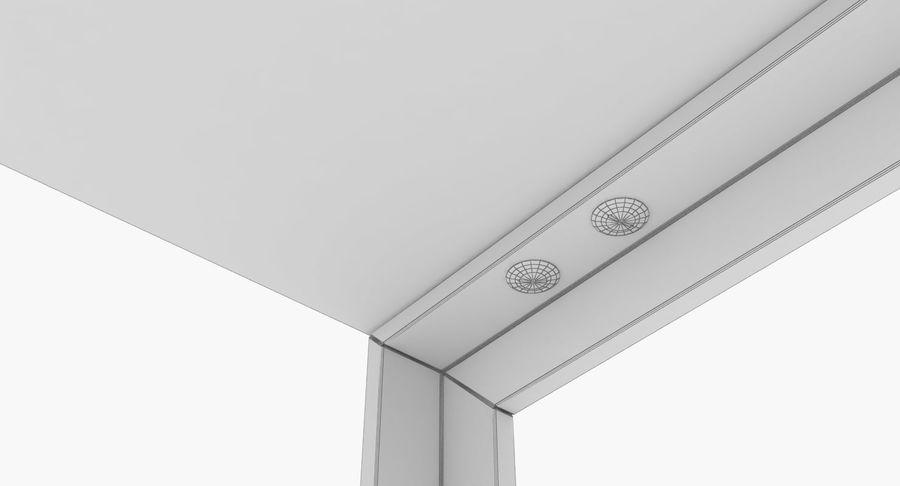 现代咖啡桌 royalty-free 3d model - Preview no. 9