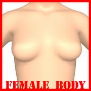 Corps féminin 3d model