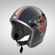 Old School Helmet 3d model
