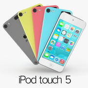 Apple iPod Touch 5 3d model