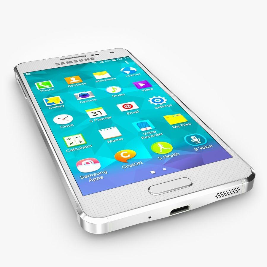 Samsung Galaxy Alpha royalty-free 3d model - Preview no. 2